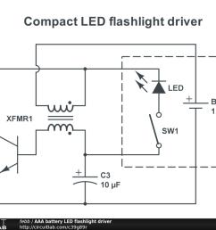 aaa battery led flashlight driver public [ 1024 x 768 Pixel ]