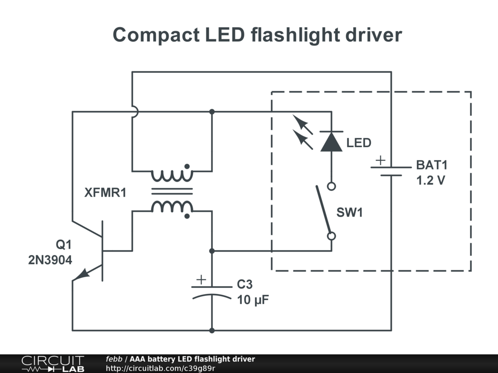 hight resolution of aaa battery led flashlight driver public