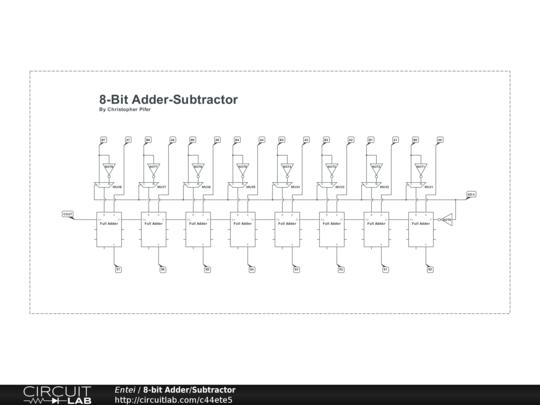 bit bcd adder public circuit online circuit simulator