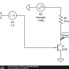 Resistor Circuit Diagram 2002 Dodge Durango Radio Wiring Audio Potentiometer Imageresizertool Com