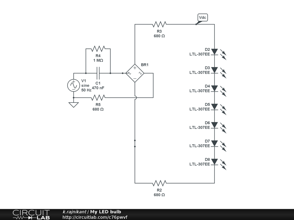 hight resolution of my led bulb circuitlab led circuits and schematics for the hobbyist