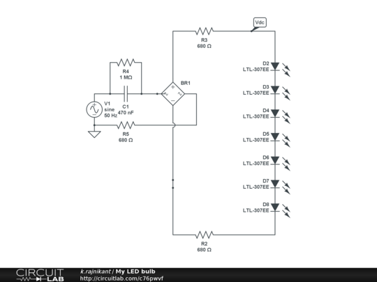 circuit diagram bulb