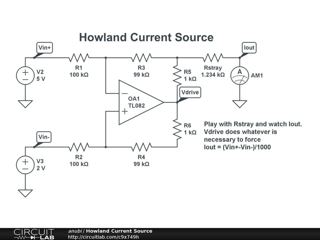 hight resolution of howland current source public