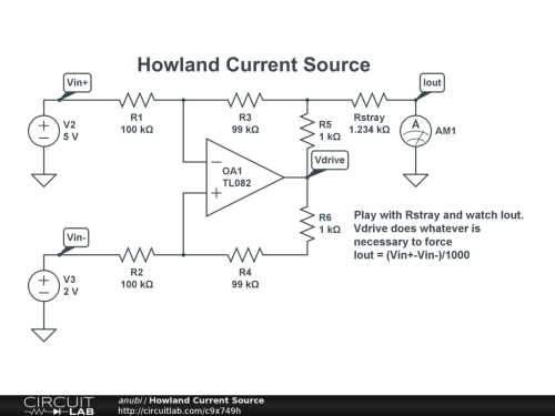 small resolution of howland current source public