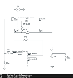 model rocket igniter circuit [ 1024 x 768 Pixel ]