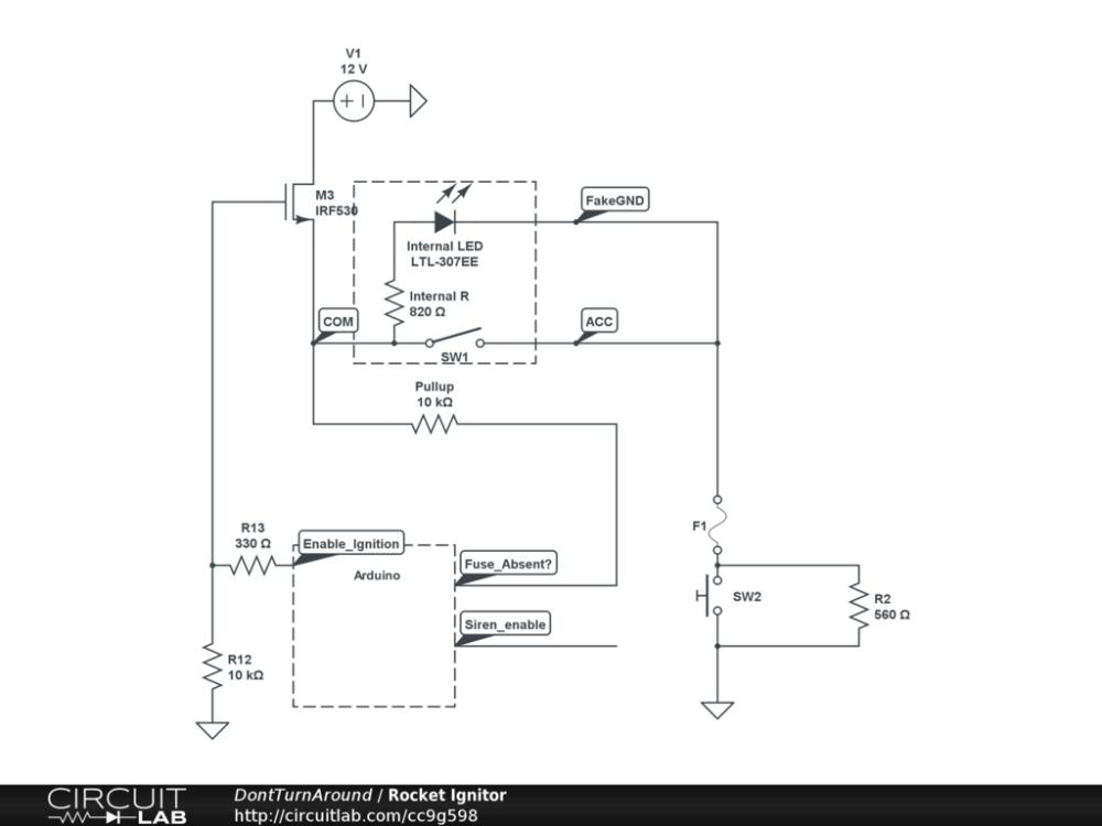 medium resolution of model rocket igniter circuit