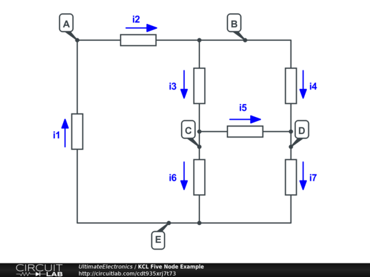 Kirchhoff's Voltage Law (KVL) and Kirchhoff's Current Law