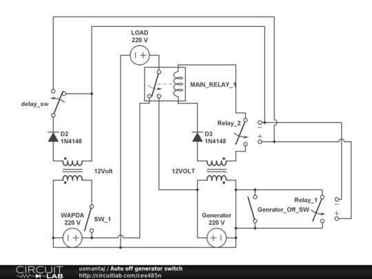 home circuit diagram