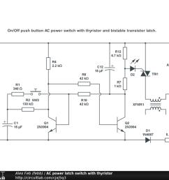 ac power latch switch with thyristor public [ 1024 x 768 Pixel ]