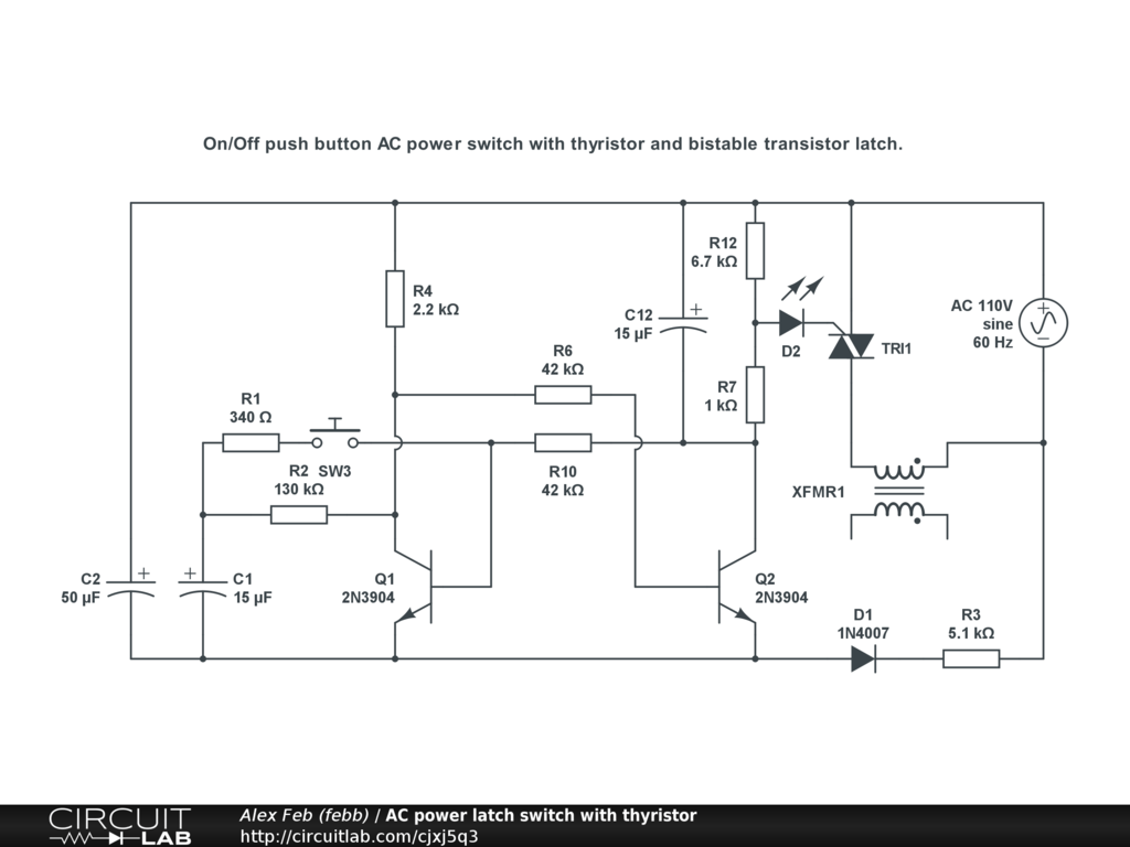 hight resolution of ac power latch switch with thyristor public