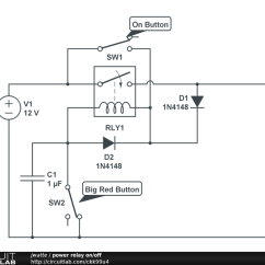 Power Relay Wiring Diagram Pilot Light Switch Transistor 30 Images