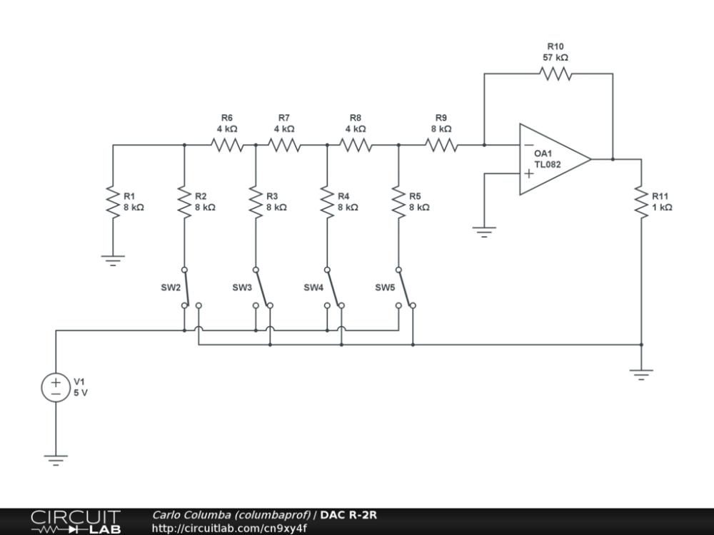 medium resolution of r 2r ladder circuit diagram wiring diagram hub molding machine diagram r 2r ladder circuit diagram