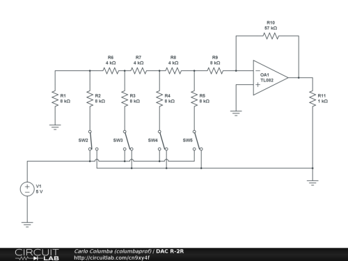 small resolution of r 2r ladder circuit diagram wiring diagram hub molding machine diagram r 2r ladder circuit diagram