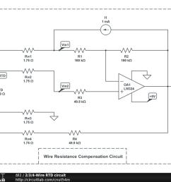 2 3 4 wire rtd circuit circuitlab 4 wire rtd wiring diagram at cita asia [ 1024 x 768 Pixel ]