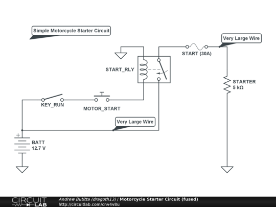Yamaha Dt 125 Wiring Diagram Motorcycle Starter Circuit Fused Circuitlab