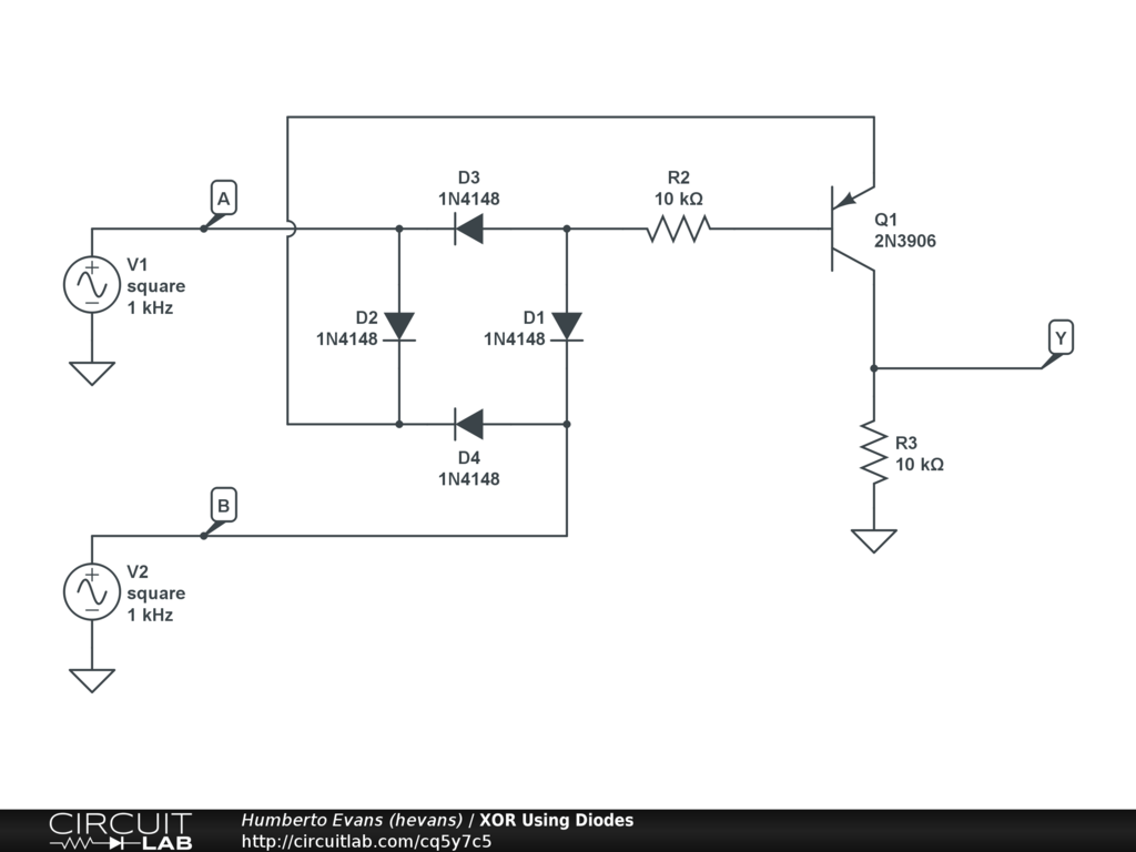 hight resolution of circuit xor