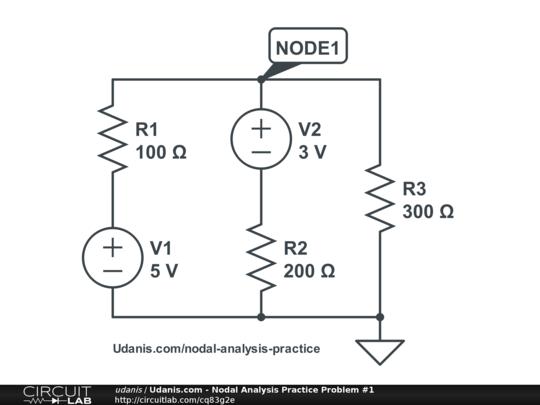 node voltage analysis public circuit online circuit simulator