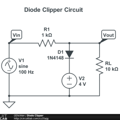 Circuit Diagram Of Clipper And Clamper Gm Wiring Diagrams Online Electronics Lab Manual Navas Clipping Clamping 2019