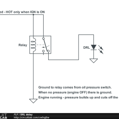 12v Relay Switch Wiring Diagram 1 Way Light Easy Delay On Using Spdt For Drl Setup With Dc