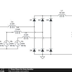 Diode Wiring Diagram Blank Pyramid 5 Three Phase Rectifier Circuit 37