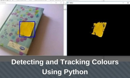 Detecting and Tracking Colours Using Python