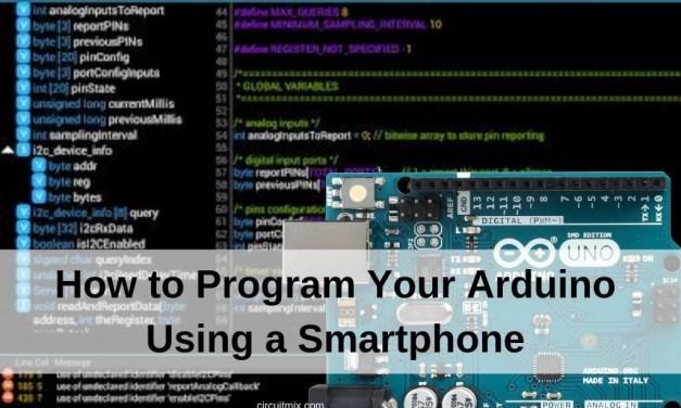 How to Program Your Arduino Using a Smartphone