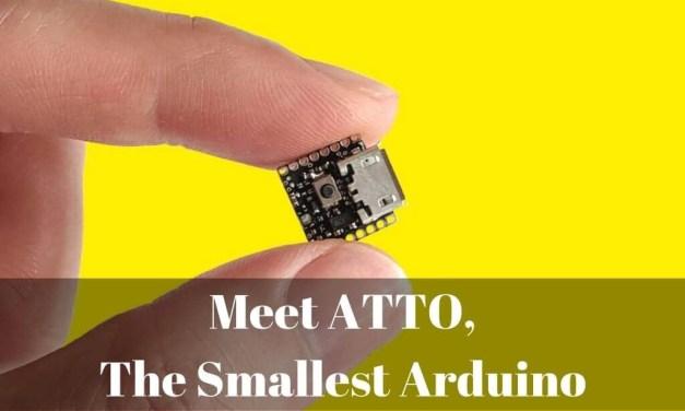 Introducing ATTO, The Smallest Arduino Board