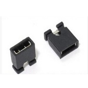 100 Pezzi 2.0 mm single row pin jumper cap, short circuit blocks, connecting blocks