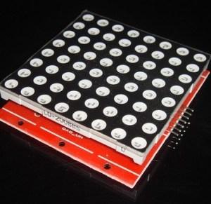8X8 dot matrix display Modulo kit , Arduino can be arbitrarily cascade control