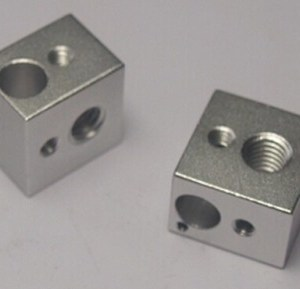 16*16*12 E3D Heating Alluminio Block per Stampante 3D