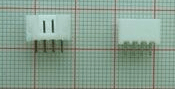 20 Pezzi PH2.0-4P Straight Pins Socket