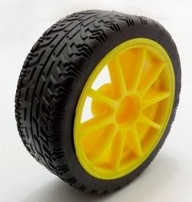 65MM Ruota Need Giunti Yellow