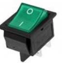 Green Rocker Pulsante 4pins 16A 32*25*28mm