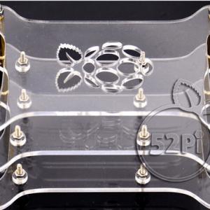 Raspberry PI C-type dog bones case