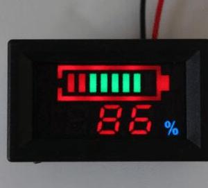 Indicatore di carica per elementi litio YB27VE 36V 10 series