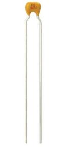 10 Pezzi K220J15C0GF53L2 Condensatore Ceramico Multistrato, Serie Mono-Kap, 22 pF, ± 5%, C0G / NP0, 50 V, Conduttori Radiali 22p