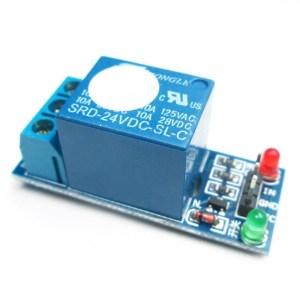 1 canale Relè Modulo 5V extension board per Arduino PIC AVR DSP ARM high level trigger