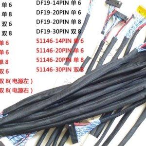 18PCS Universale FPC / LVDS Cavo Supporto per Monitor per Scheda di Regolatore 10-65 pollici Schermo LCD