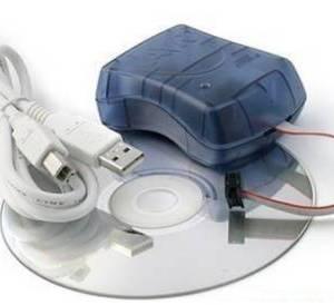 Programmatore ISP USB compatibile AVRISP STK500 V2.0 per ATmel IC