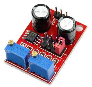 Driver del motore passo-passo generatore di segnale ad onda rettangolare modulo di duty cycle regolabile frequenza impulsi NE555