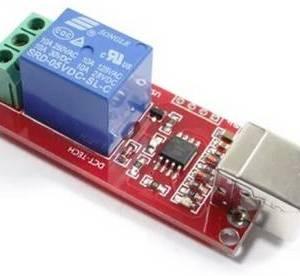 Modulo relè USB a 5 canali 1 canale interruttore di controllo