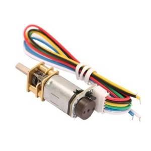 GA12-N20 Motoriduttore DC, misurazione della velocità con encoder Hall 3V / 6V / 9V 15 giri / min 30 giri / min 50 giri / min 60