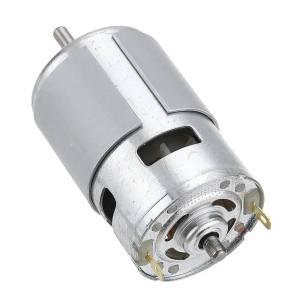 Motore CC ad alta velocità 775 12V 150W 12000 RPM