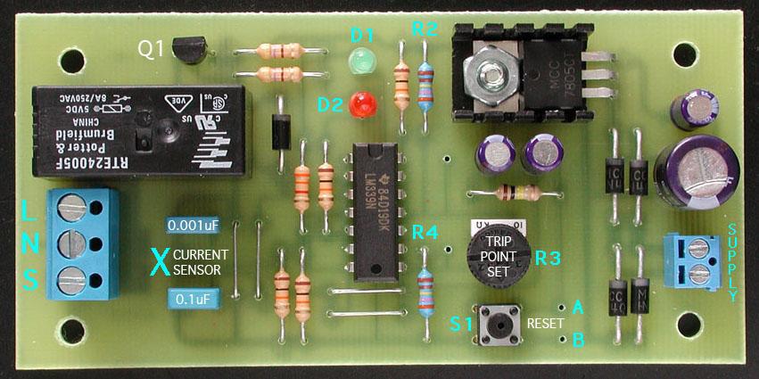 Relay Or Circuit Breaker