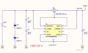 Reverse current  battery polarity protection • Circuits