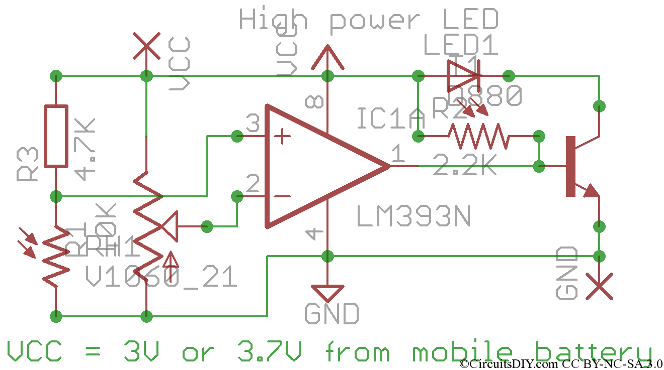 hight resolution of automatic quick turn on led in dark