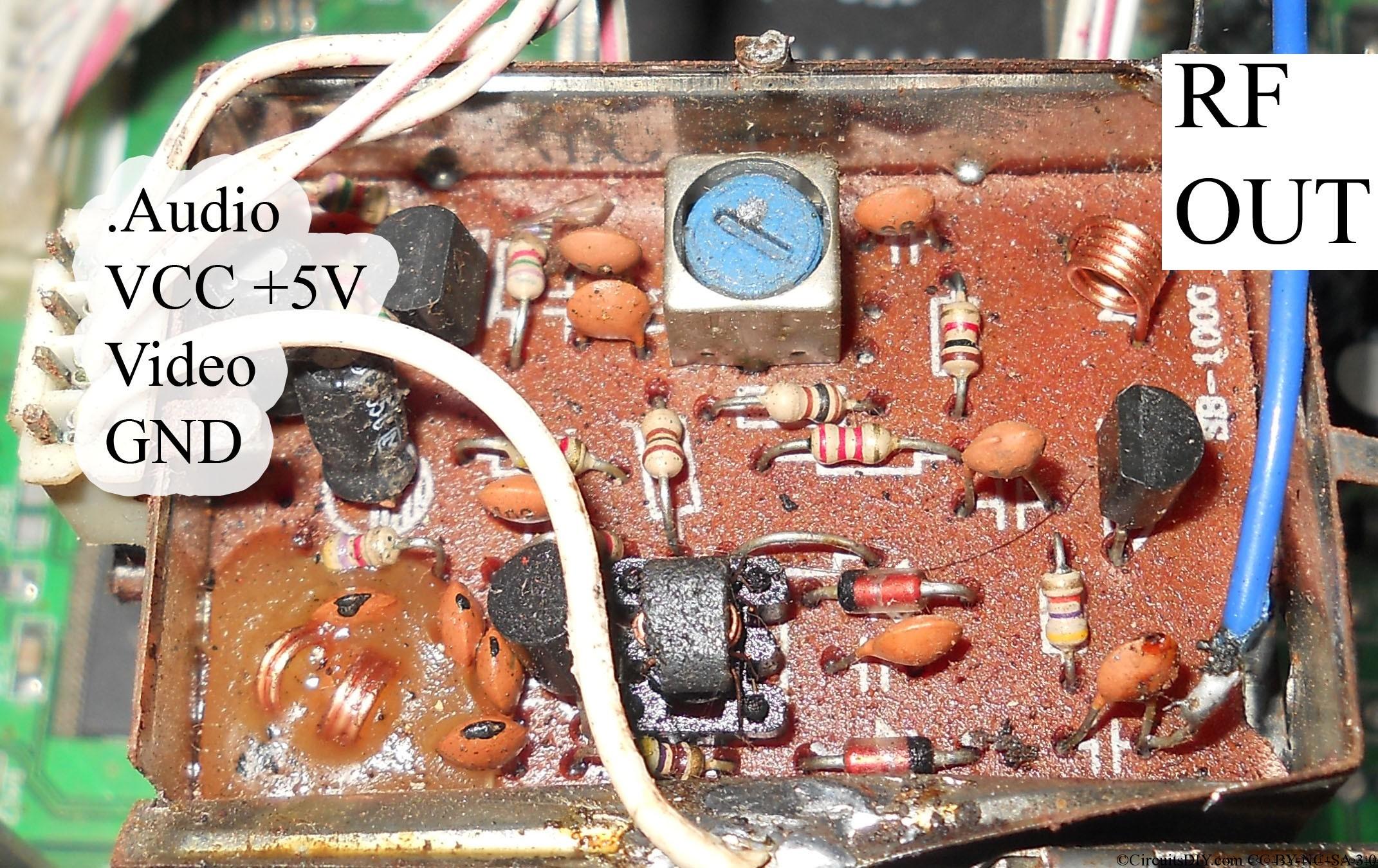 rf modulator hookup diagram reading wire diagrams dish hopper wiring