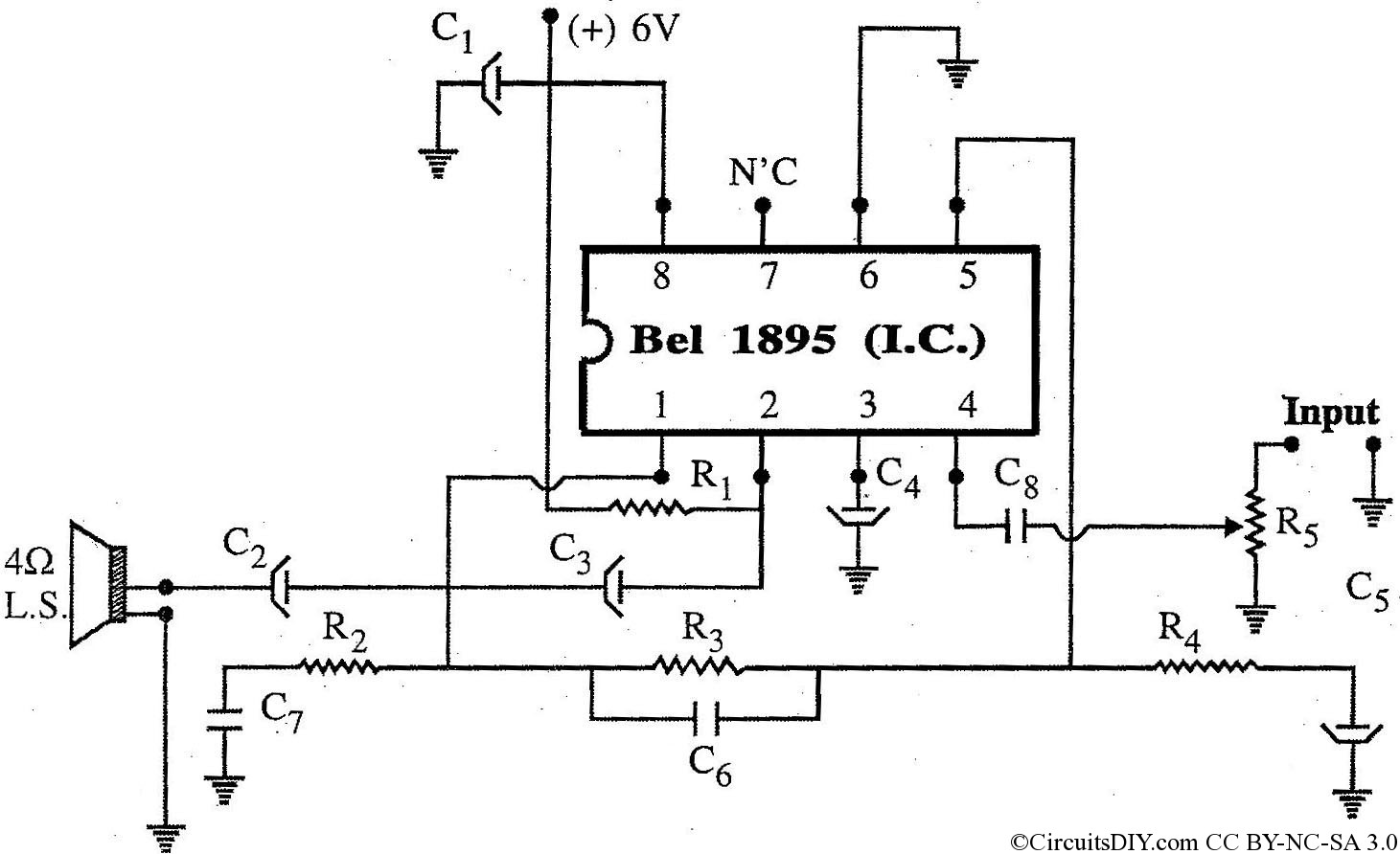 810 Ic Circuit Diagram