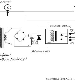 220 volt to 110 volt auto bulb changer circuit circuits diy 220 volt electrical wiring diagram [ 984 x 805 Pixel ]