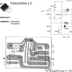 100w Subwoofer Amplifier Circuit Diagram Wiring Ecu Toyota Hilux Working And